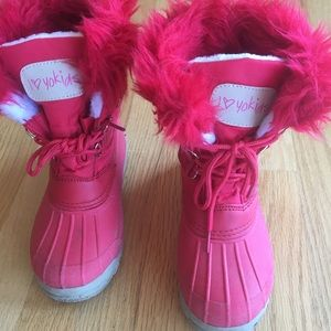 Other - Girls Red Winter Boots